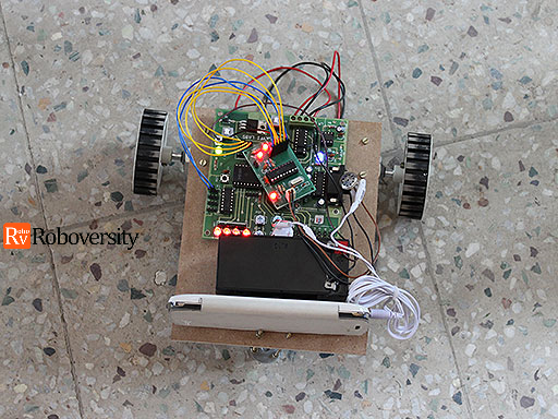 Mobile controlled robot