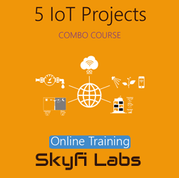 5 IoT Projects (Combo Course) - Online Project-based Course