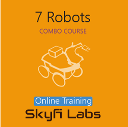 7 Robots Online Project based Course (Combo Course)