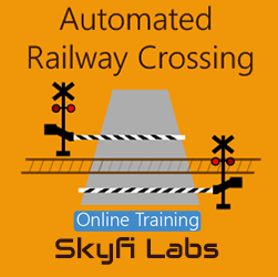 Automated Railway Crossing Online Project based Course