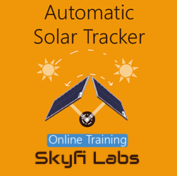 Automatic Solar Tracker Online Project based Course