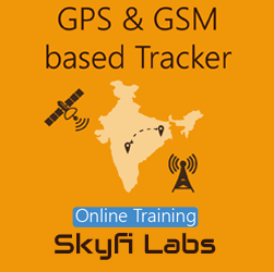 GPS & GSM based Tracker Online Project based Course