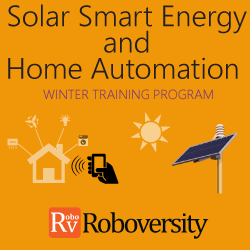 Winter Training Program on Home Automation and Solar Smart Energy Systems Winter Training Program