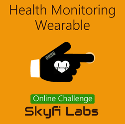 Health Monitoring Wearable Glove - A Challenge