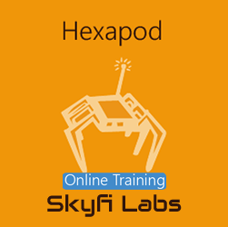 Hexapod using Arduino Online Project based Course