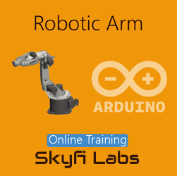 Robotic Arm Online Project based Course