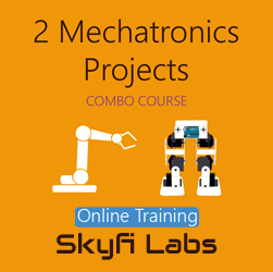2 Mechatronics Projects (Combo Course) - Online Project-based Course