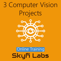 3 Computer Vision Projects Online Project-based Course (Combo Course)
