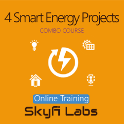 4 Smart Energy Projects Online Project Based Course (Combo Course)
