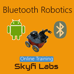 Bluetooth Robotics Online Project based Course Robotics