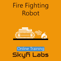Fire Fighting Robot Online Project-based Course