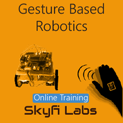 Gesture Based Robotics Online Project based Course Robotics