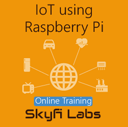 IoT using Raspberry Pi Online Project based Course