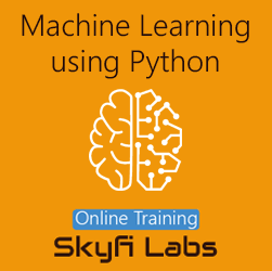 Machine Learning Using Python Online Project Based Course