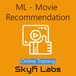 Movie Recommendation using Machine Learning Online Project-based Course