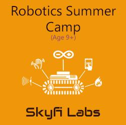 Robotics Explorer Summer Camp (Age 10+) - Online Live Course
