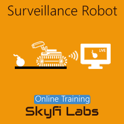 Surveillance Robot Online Project-based Course